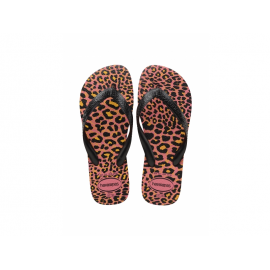 Chanclas Havaianas Top Animals rosa/leopardo mujer