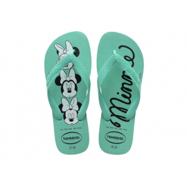 Chanclas Havaianas Top Disney Minnie verde mujer