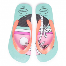 Chanclas Havaianas Top Vibes verde mujer
