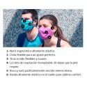 Mascarilla protec reutilizable UYN Community Amarillo unisex