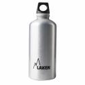 Botella Laken Futura 0.6L plata