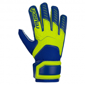Guantes Reusch Attrakt SD Open Cuff LTD amarillo/azul junior