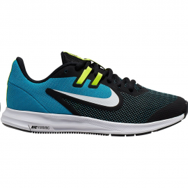 Zapatillas Nike Downshifter 9 (GS) negro/azul junior