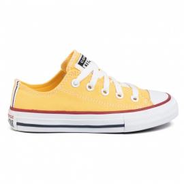 Zapatillas Converse All Star Ox verde amarillo junior