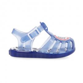 Cangrejeras Gioseppo Davie azul transparente bebé