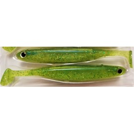 """Kirach Shad 3,8"""" c.052 Lime Chartreuse"""