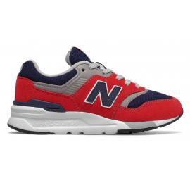 Zapatillas New Balance PR997HBJ rojo/marino niño