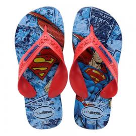 Chanclas Havaianas Max Heroes Superman azul niño