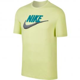 Camiseta Nike Sportwear Tee Brand pistacho hombre