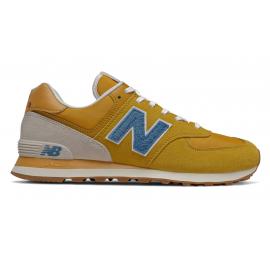 Zapatillas New Balance ML574SCB amarillo/azul hombre