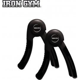 Juego de puños Hand Grip Iron Gym negro unisex