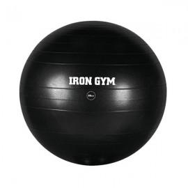 Balon entrenamiento 55 cm. Iron Gym negro unisex