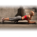 Cilindro Foam Masaje 33 cm. Iron Gym negro unisex
