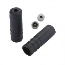 1 Tope funda cambio 5mm plastico Jagwire negro (1 pieza)
