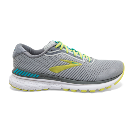 Zapatillas running Brooks Adrenaline GTS 20 gris/lima mujer