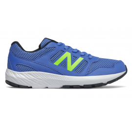 Zapatillas New Balance YK570BE azul/lima junior
