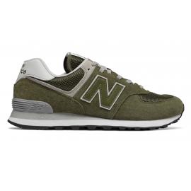 Zapatillas New Balance ML574EGO verde caqui hombre