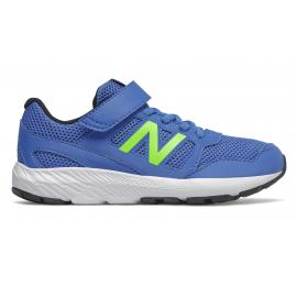 Zapatillas New Balance YT570BE azul/lima niño