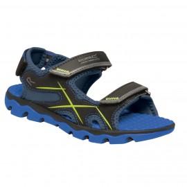 Sandalias montaña Regatta Kota Drift negro azul niño