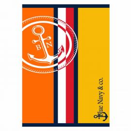 Toalla Secaneta 90x165cm Siroco naranja
