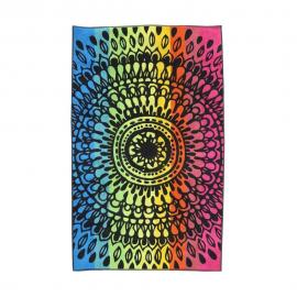 Toalla Secaneta 100x170 Aruna negro