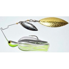 Spinnerbait 4Wind 1 oz. c. Chartreuse / Grey