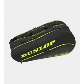 Raquetero Dunlop SX Performance 8RKT Thermo negro/amarillo