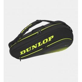 Raquetero Dunlop SX Performance 3RKT Thermo negro/amarillo