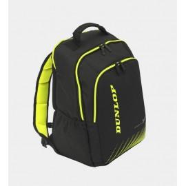 Mochila tenis Dunlop SX Performance negra/amarilla