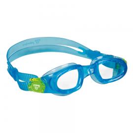 Gafas natación MP Moby Kid azul lente transparente junior