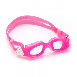 Gafas natación MP Moby Kid rosa lente transparente junior