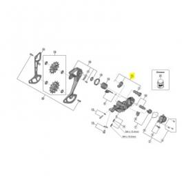 Pieza Sujeta Cambio Shimano RD-8100/M7100/6100