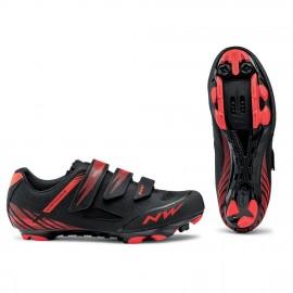 Zapatillas Northwave Origin negro-rojo  Mtb-Xc hombre