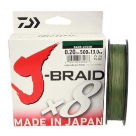 Trenzado J Braid 0,13mm.-150m.