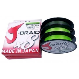 Trenzado J Braid 0,16mm.-150m. CHART.