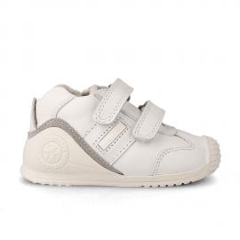 Zapatillas Biomecanics Lía 151157 blanco bebé