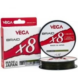 Trenzado Braid 8X Moss Green 0,18 - 300m.