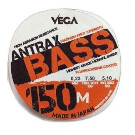 Nylon Antrax Bass 150m 0.25mm