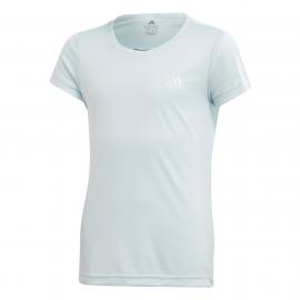 Camiseta adidas Training Equipment celeste niña