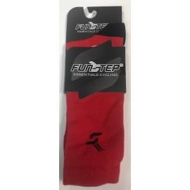 Calcetines altos FunStep Essencial rojo A