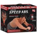 Rueda de abdominales Iron Gym Speed ABS negro/rojo