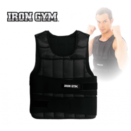 Chaleco entrenamiento Iron Gym Weight Vest 10 kg negro