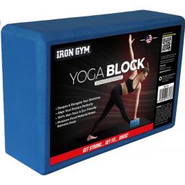 Bloque yoga Iron Gym azul