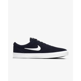 Zapatillas Nike SB Charge Suede Skate marino/blanco hombre