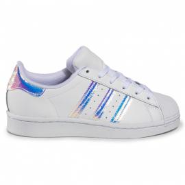 Zapatillas adidas Superstar blanco/plata junior
