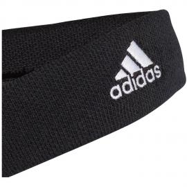 Cinta tenis de pelo Adidas negra