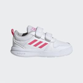 Zapatillas adidas Tensaur I blanco/rosa bebé