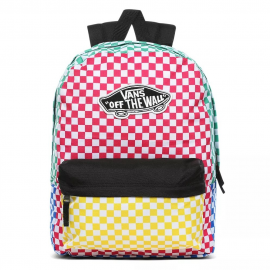 Mochila Vans Realm Backpack cuadros colores