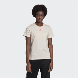 Camiseta adidas FAV T salmón mujer