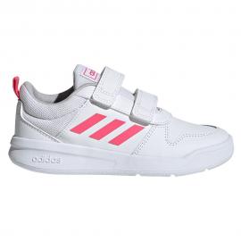Zapatillas adidas Tensaur C blanco/rosa niña